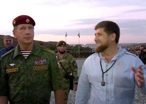 Золотов и Кадыров