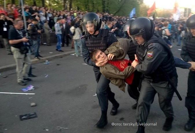 Максим Панфилов на Болотной