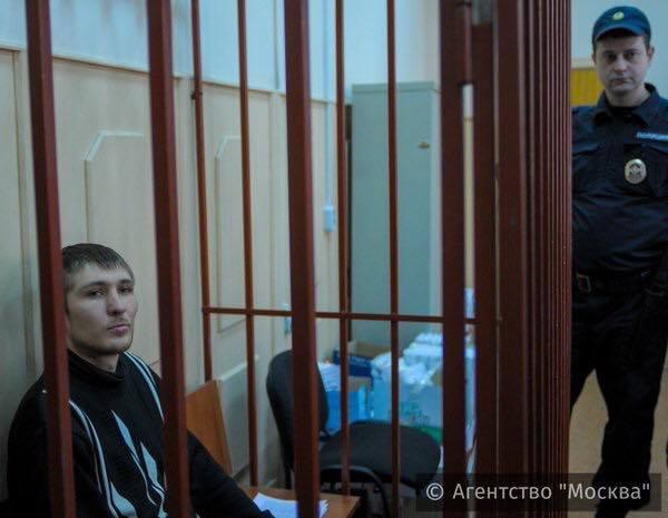 Максим Панфилов в суде