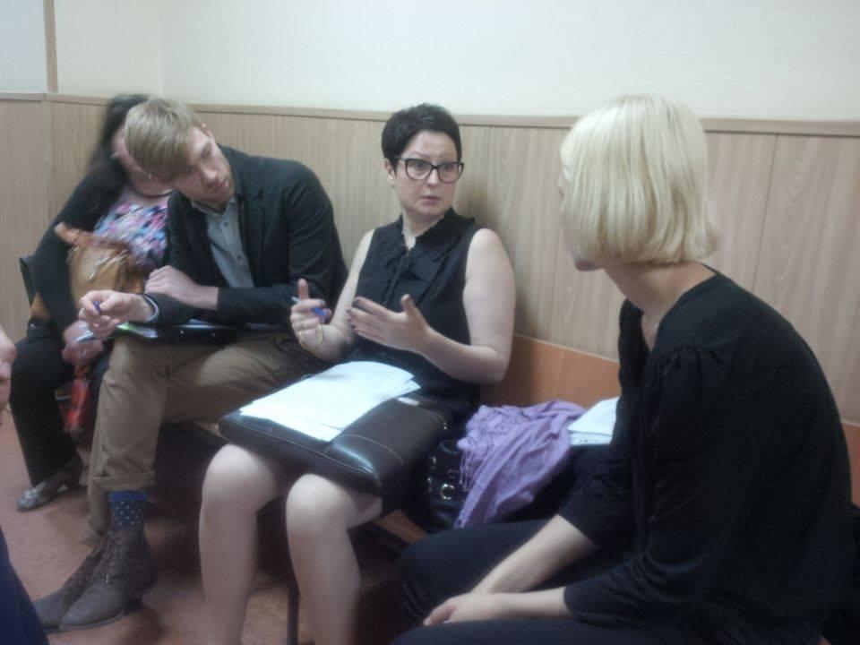Семен Лашкин в суде